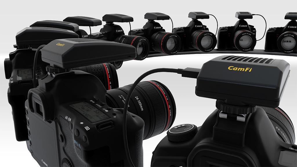 CamFi Pro - Ultrafast wireless camera controller, speed photo