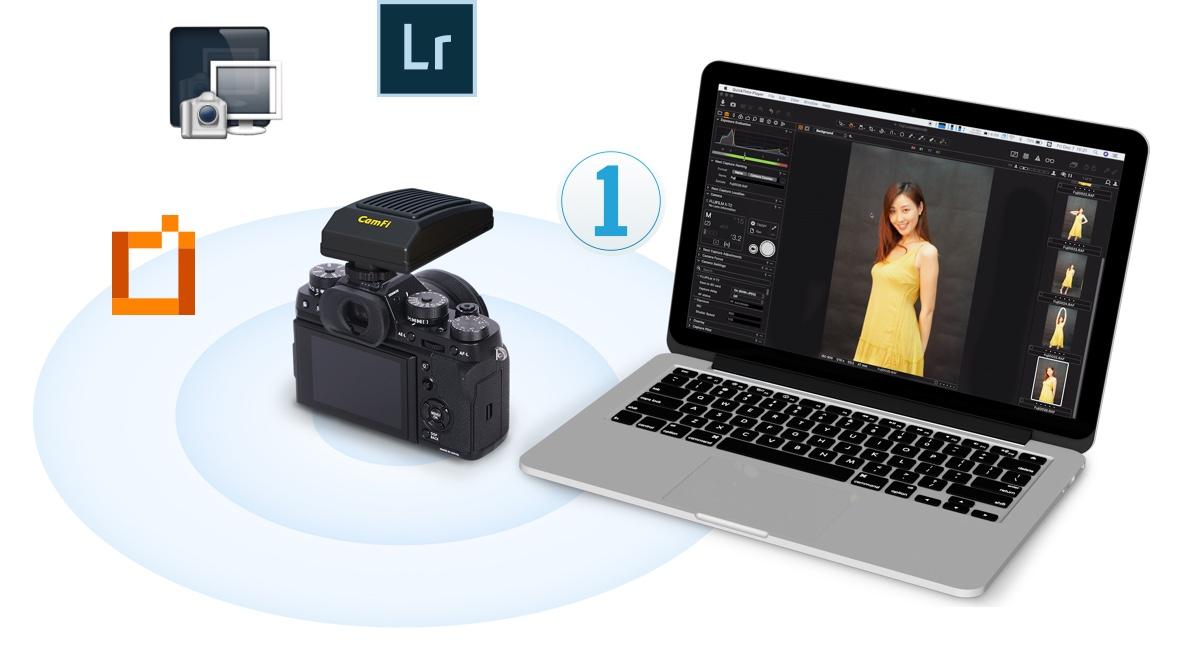 CamFi Pro Plus - Professional wireless tethering solution