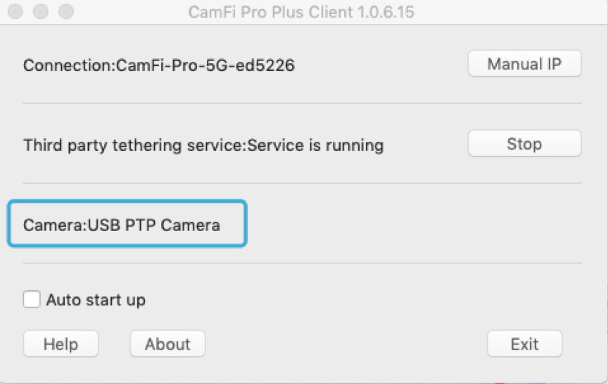 Wireless tethering with Capture One and FUJIFILM X-T3 camera